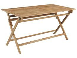 Záhradný stôl TURIN 140x80