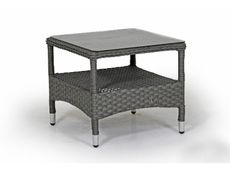 Príručný stolík šedý COLBY