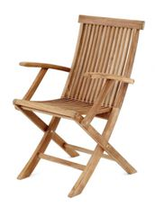 Záhradná stolička s podrúčkami TURIN